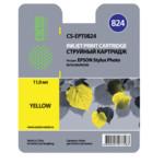 Струйный картридж Cactus CS-EPT0824 желтый