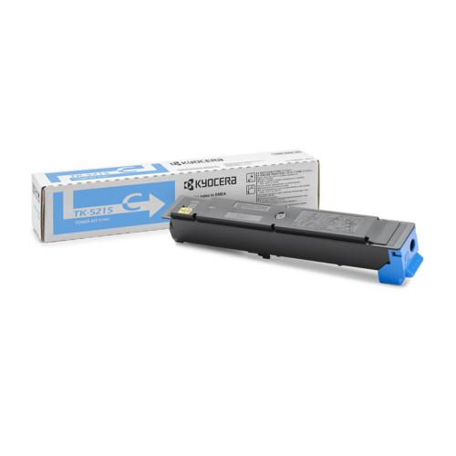 Тонер Kyocera TK-5215C, Cyan для TASKalfa 406ci (1T02R6CNL0)