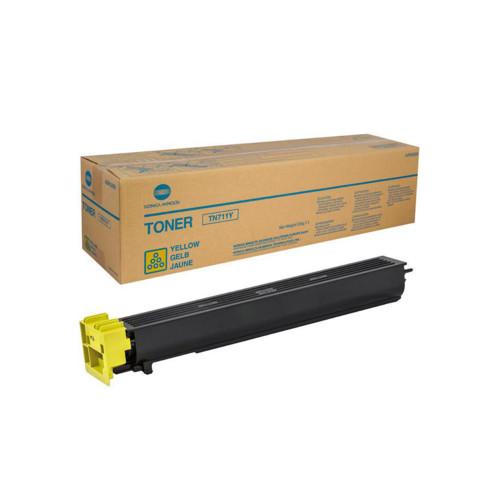 C654/754/Pro C754 TN-711Y, желтый