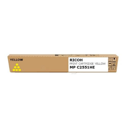 Тонер Ricoh Aficio MPC2051/C2551, желтый (842062)