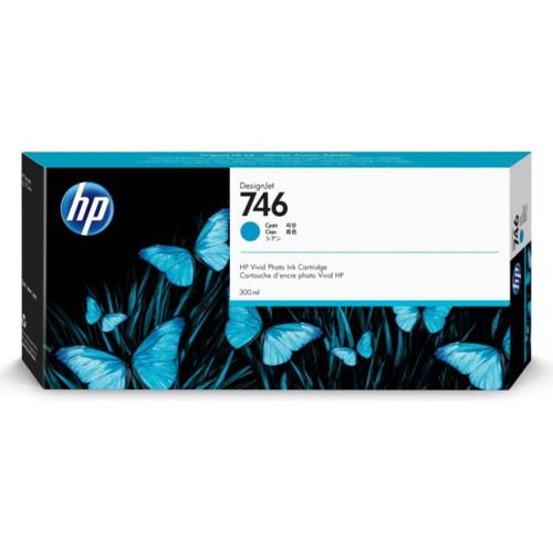 Струйный картридж HP DesignJet 746 Cyan (P2V80A)