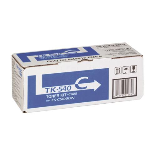 Лазерный картридж Kyocera TK-540C (1T02HLCEU0)
