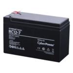 Сменные аккумуляторы АКБ для ИБП CyberPower RC 12-7