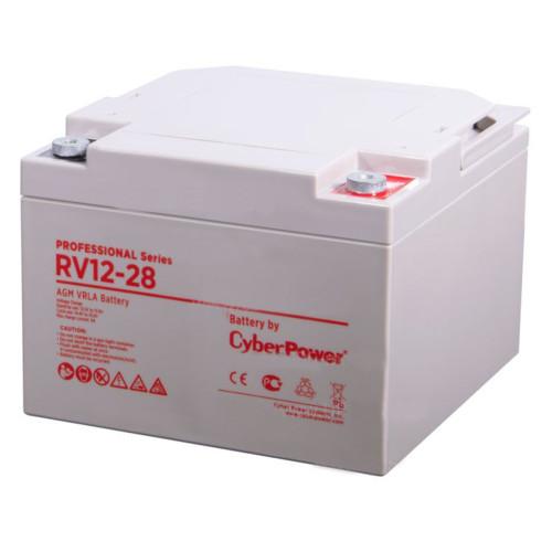 Сменные аккумуляторы АКБ для ИБП CyberPower RV 12-28 (RV 12-28)