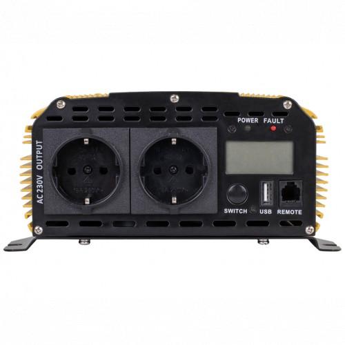 Автомобильный инвертор Ritmix RPI-6102 Pure sine wave (15119886)