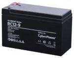 Сменные аккумуляторы АКБ для ИБП CyberPower Professional series RV 12-9 / 12V 9 Ah