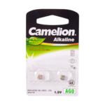 Батарейка CAMELION Alkaline AG0-BP2 - 2штуки (Блистер)