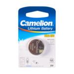 Батарейка CAMELION Lithium CR2450-BP1 - 1штука (Блистер)