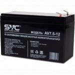 Сменные аккумуляторы АКБ для ИБП SVC AV-7.5-12/S
