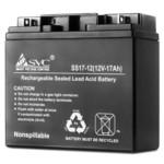 Сменная АКБ для ИБП SVC Батарея 12В 17 Ач