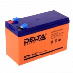 Сменные аккумуляторы АКБ для ИБП Delta Battery DTM 1207 12V7.2Ah