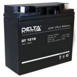 Дополнительная АКБ для ИБП Delta DT 1218 18 А\ч, 12В