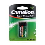 Батарейка CAMELION Super Heavy Duty 6F22-SP1G - 1штука (Блистер)