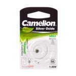 Батарейка CAMELION Silver Oxide SR63-BP1 - 1штука (Блистер)