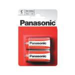 Батарейка Panasonic Red Zinc С/2B - 4штуки (Блисер)
