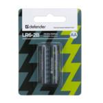 Батарейка Defender LR6 AA Alkaline LR6-2B - 2 штуки