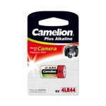 Батарейка CAMELION Plus Alkaline 4LR44-BP1C - 1штука (Блистер)