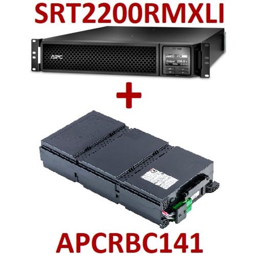 Smart-UPS SRT 2200, 230 В, стоечное исполнение + RBC