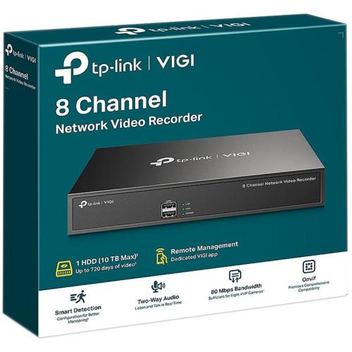 Видеорегистратор TP-Link VIGI NVR1008H (VIGI NVR1008H)
