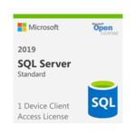 Софт Microsoft MS SQLCAL 2019 SNGL OLP NL DvcCAL