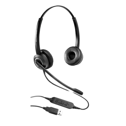 Наушники Grandstream GUV3000 HD USB Headsets with Noise Canceling Mic (GUV3000)