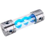 Аксессуар для ПК и Ноутбука Bykski Резервуар DNA Gun&Blue 260мм