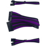 Кабель питания NO NAME Cable-pins PURPLE-BLACK