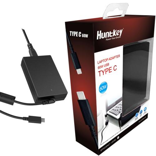 Блок питания для ноутбуков Huntkey 60W-TYPE-C (60W-TYPE-C)