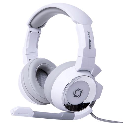 Наушники AverMedia SonicWave GH335 - White (40AAGH335APM)