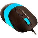Мышь A4Tech FM-10-BLUE Fstyler