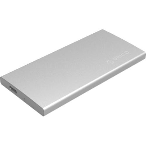 Аксессуар для жестких дисков ORICO Внешний корпус SSD M.2 DM2-RC3-SV (DM2-RC3-SV)