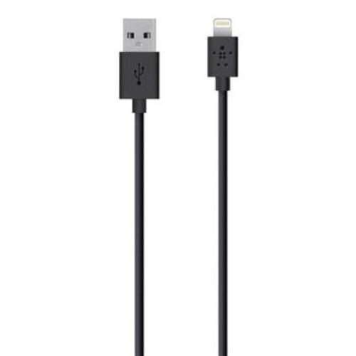 Кабель Belkin Кабель USB 2.0 Lightning charge/sync cable 1.2м, Black (959640)