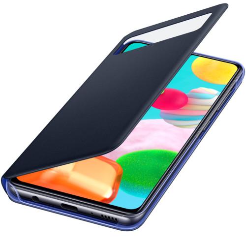 Аксессуары для смартфона Samsung Galaxy A41 S View Wallet Cover black (EF-EA415PBEGRU)