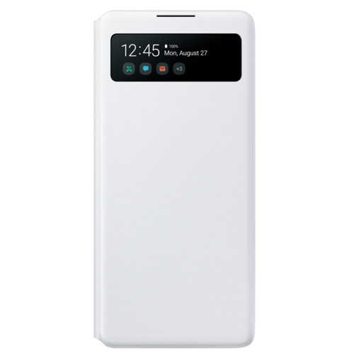 Аксессуары для смартфона Samsung Galaxy A41 S View Wallet Cover white (EF-EA415PWEGRU)
