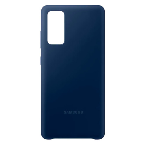 Аксессуары для смартфона Samsung Чехол для Galaxy S20 FE Silicone Cover navy (EF-PG780TNEGRU)