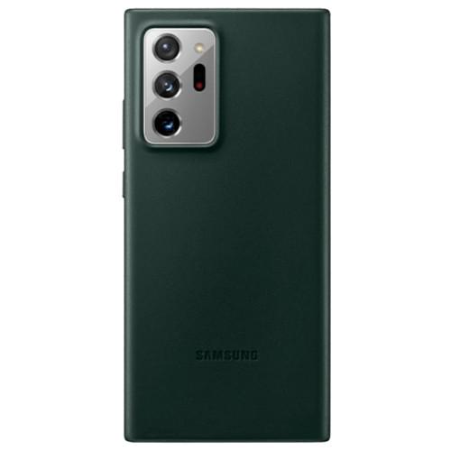 Аксессуары для смартфона Samsung Чехол Galaxy Note20 Leather Cover green (EF-VN980LGEGRU)