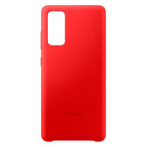 Аксессуары для смартфона Samsung Чехол для Galaxy S20 FE Silicone Cover red (EF-PG780TREGRU)