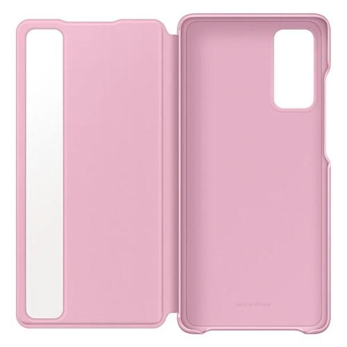 Аксессуары для смартфона Samsung Чехол для Galaxy S20 FE Smart Clear View Cover violet (EF-ZG780CVEGRU)