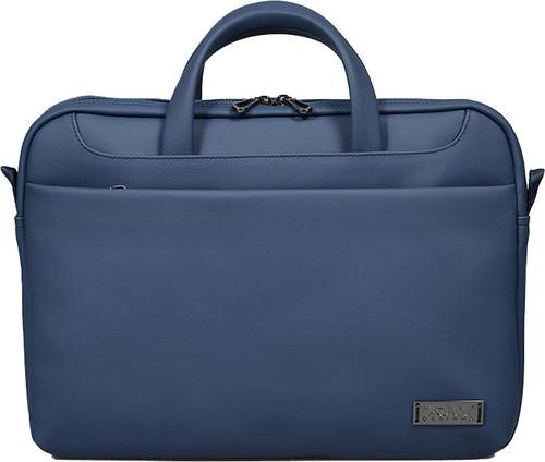 """Сумка для ноутбука Port Designs 110303, для 13.3-14"""", искусственная кожа, синий (110303)"""