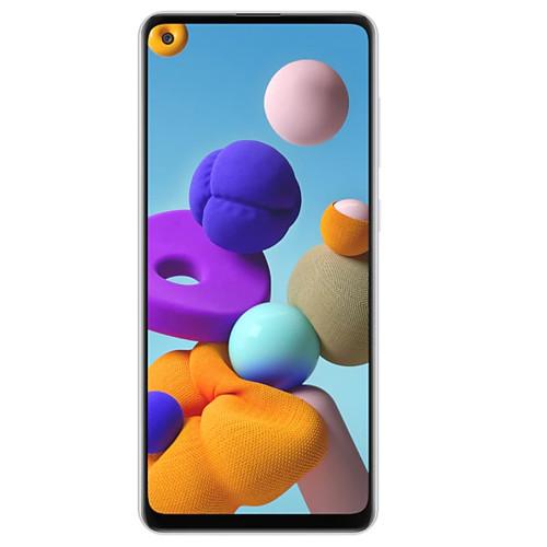 Мобильный телефон Samsung Galaxy A21s, White (1304785)