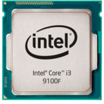 Процессор Intel Core i3 9100F