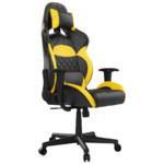 Gamdias Игровое кресло ZELUS E1 L BY Черно-желтый