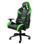 Компьютерная мебель GameMax Игровое кресло GCR08 GREEN/BLACK