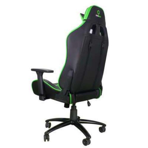 Компьютерная мебель GameMax Игровое кресло GCR08 GREEN/BLACK (GCR08)