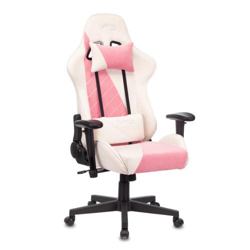 Компьютерная мебель Бюрократ Кресло игровое VIKING-X-Fabric-WT-PK (VIKING-X-Fabric-WT/PK)
