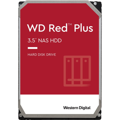 Внутренний жесткий диск Western Digital WD Red Plus (WD20EFZX)