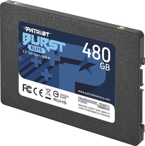 Внутренний жесткий диск Patriot Burst Elite (PBE480GS25SSDR)