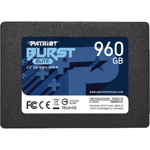 Внутренний жесткий диск Patriot Burst Elite (PBE960GS25SSDR)