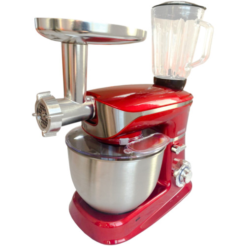 Прочее DAUSCHER  Кухонный комбайн DKP-6513SM-TURBO Красный (DKP-6513SM-TURBO)