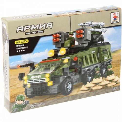 Аксессуар Ausini Игровой конструктор Армия: Зенитная мобильная ракетная установка (22704)